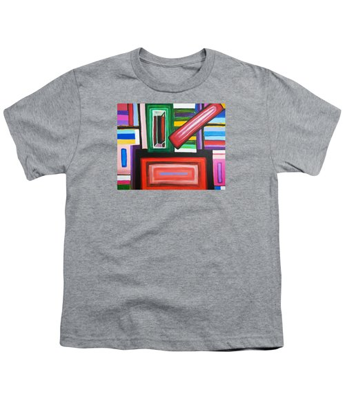 Color Squares Youth T-Shirt by Jose Rojas