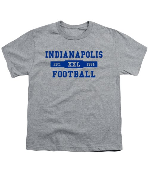 Colts Retro Shirt Youth T-Shirt by Joe Hamilton