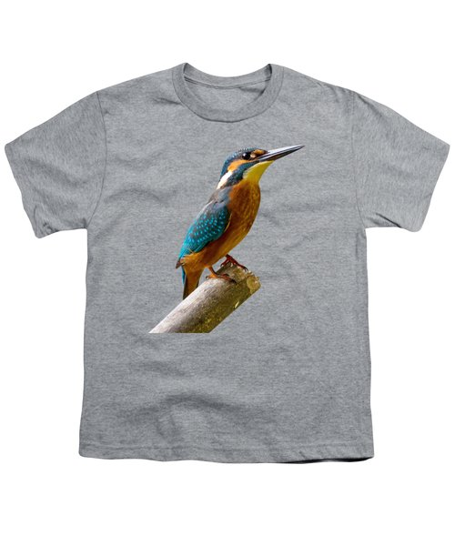 Common Kingfisher Alcedo Atthis Youth T-Shirt
