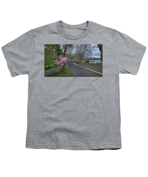 Youth T-Shirt featuring the photograph Connecticut Country Road by Bill Wakeley