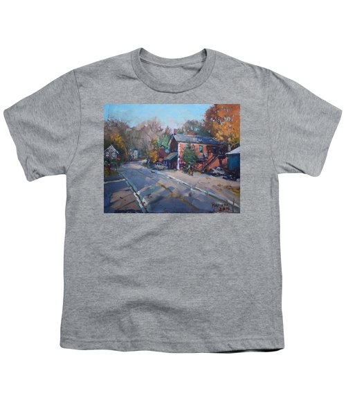 Copper Kettle Pub In Glen Williams On Youth T-Shirt