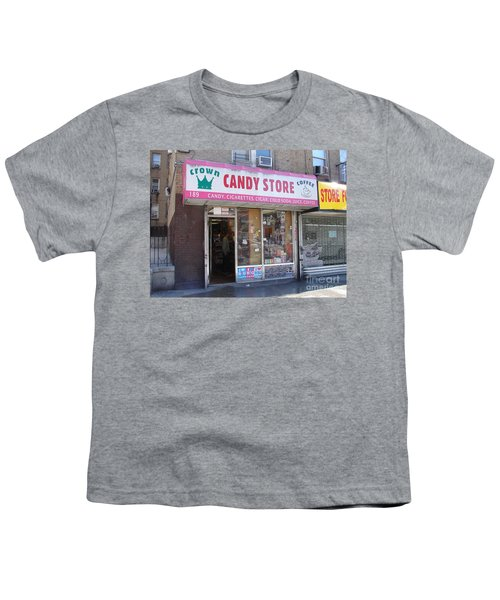 Crown Candy Store  Youth T-Shirt by Cole Thompson