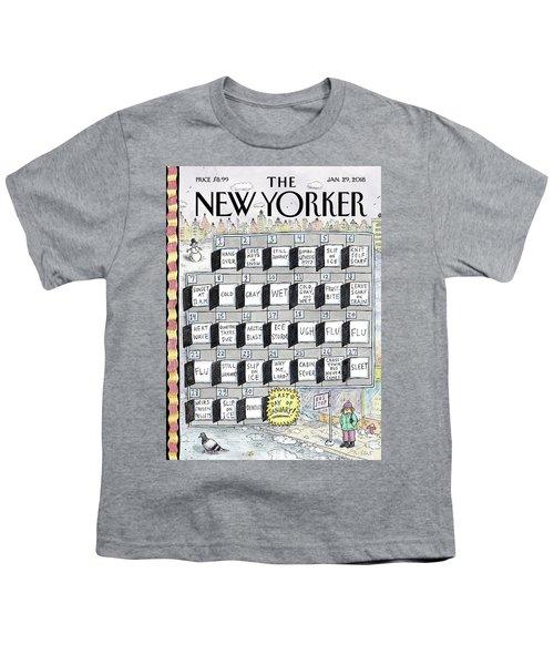 Cruellest Month Youth T-Shirt