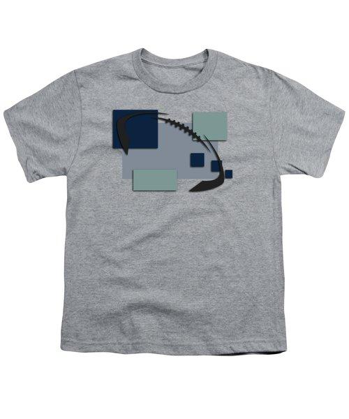 Dallas Cowboys Abstract Shirt Youth T-Shirt by Joe Hamilton