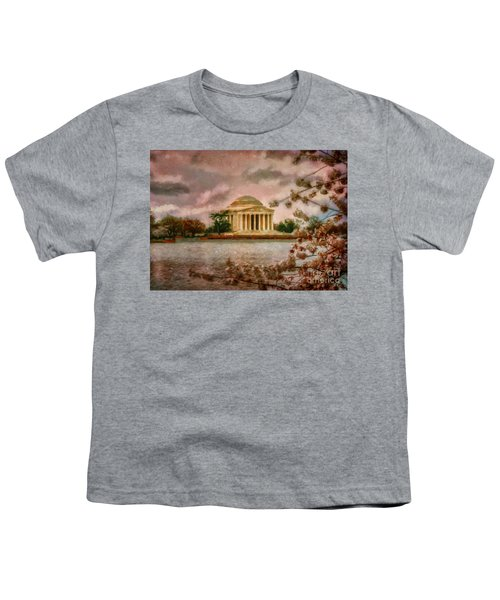Dawn Over The Jefferson Memorial Youth T-Shirt
