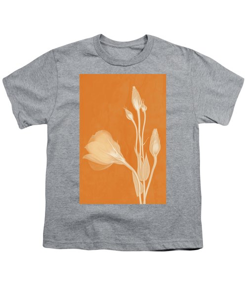 Elegance In Apricot Youth T-Shirt
