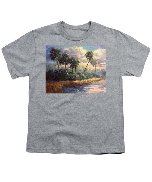Fairchild Gardens Youth T-Shirt by Laurie Hein