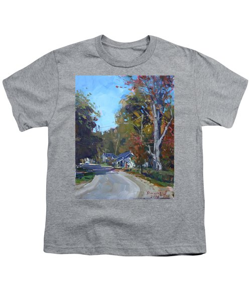 Fall In Glen Williams On Youth T-Shirt