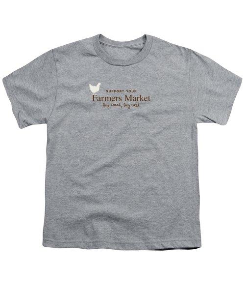 Farmers Market Youth T-Shirt
