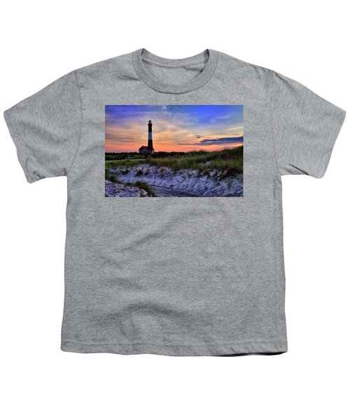 Fire Island Lighthouse Youth T-Shirt