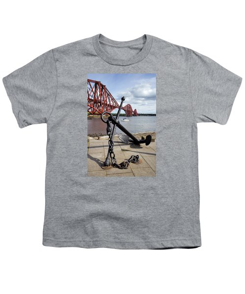 Youth T-Shirt featuring the photograph Forth Bridge by Jeremy Lavender Photography