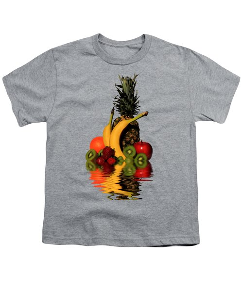 Fruity Reflections - Medium Youth T-Shirt by Shane Bechler