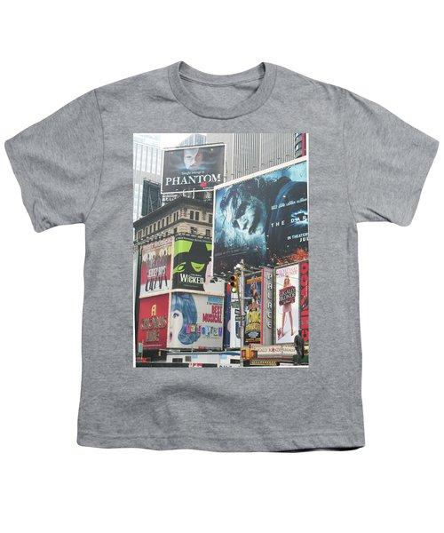 George M Youth T-Shirt by David Jaffa