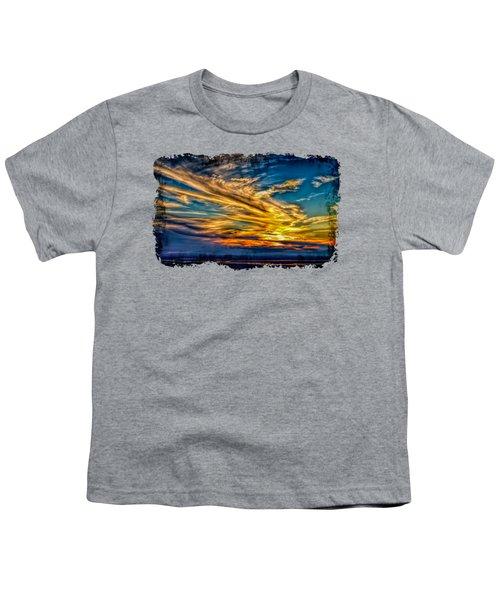 Golden Evening 2 Youth T-Shirt by John M Bailey