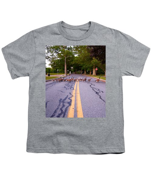 Goose Crossing  Youth T-Shirt