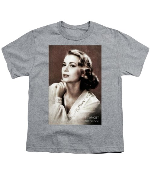 Grace Kelly, Actress, By Js Youth T-Shirt