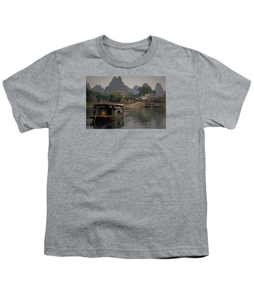 Guilin Limestone Peaks Youth T-Shirt by Travel Pics