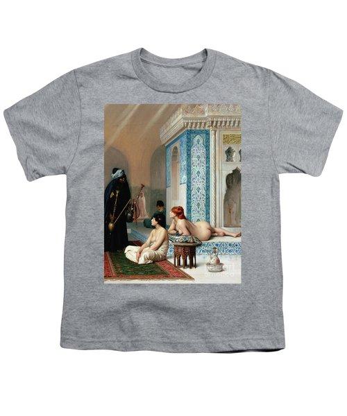 Harem Pool, Jean-leon Gerome Youth T-Shirt
