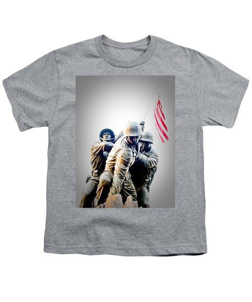 Heroes Youth T-Shirt by Julie Niemela