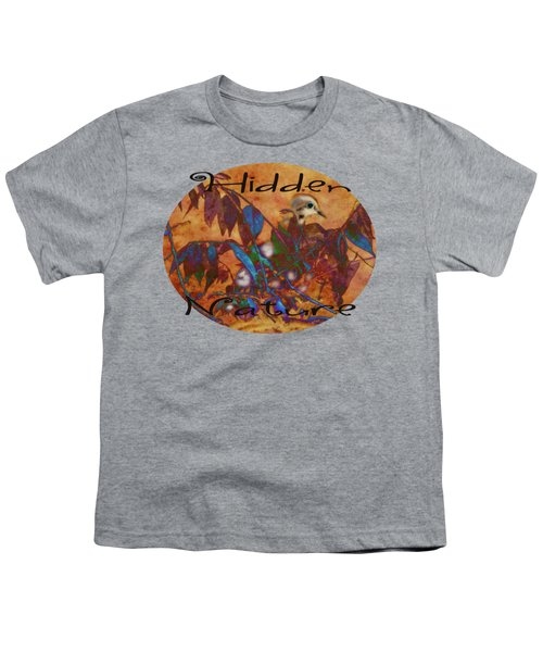 Hidden Nature - Abstract Youth T-Shirt