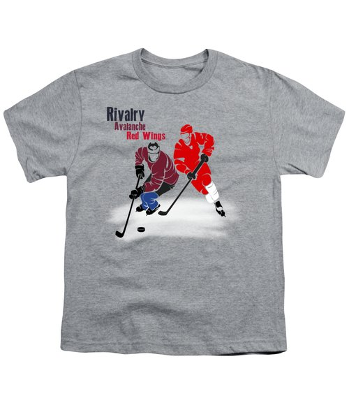 Hockey Rivalry Avalanche Red Wings Shirt Youth T-Shirt