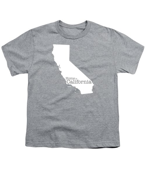 Home Is California Youth T-Shirt by Bruce Stanfield