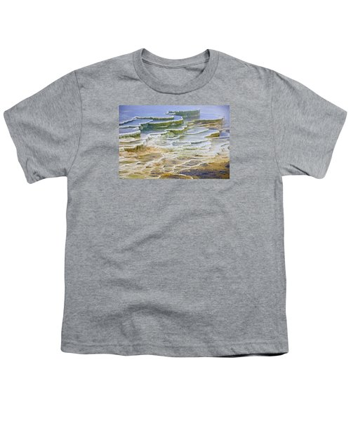 Youth T-Shirt featuring the photograph Hot Springs Runoff by Gary Lengyel