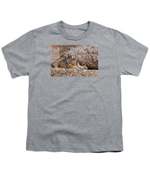 Youth T-Shirt featuring the photograph It's Been A Long Day by Gary Lengyel