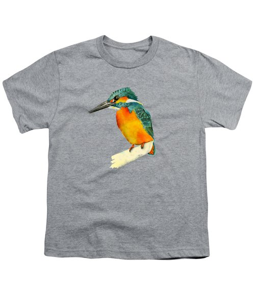 Kingfisher Bird  Youth T-Shirt