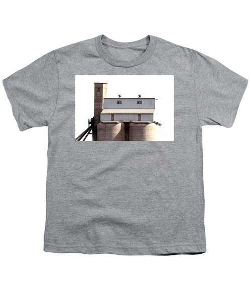Youth T-Shirt featuring the photograph Kingscote Skyrise by Stephen Mitchell