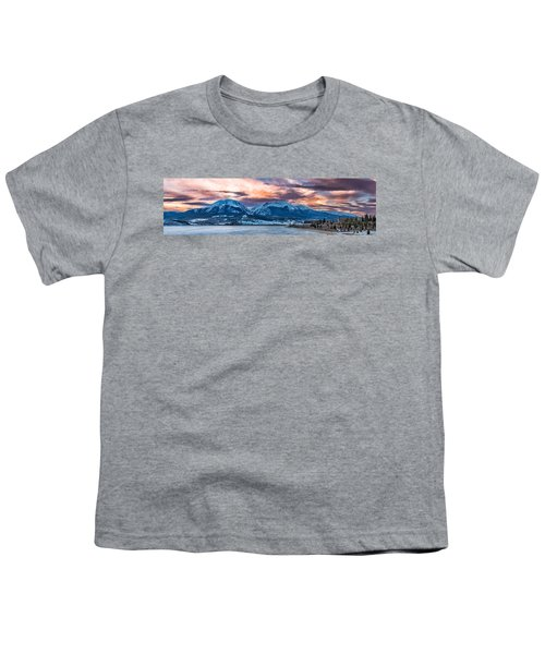 Youth T-Shirt featuring the photograph Lake Dillon by Sebastian Musial