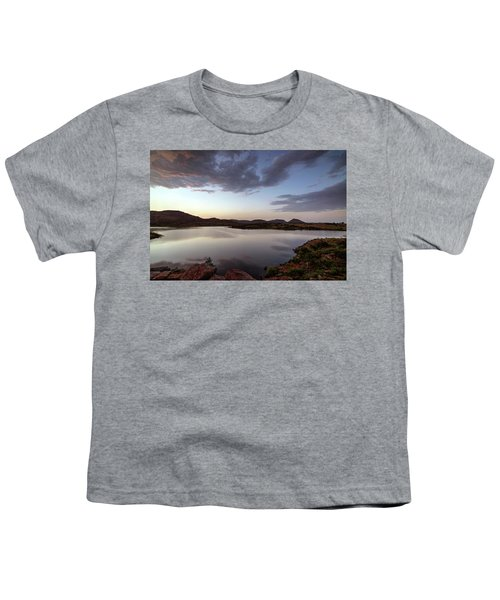 Lake In The Wichita Mountains  Youth T-Shirt