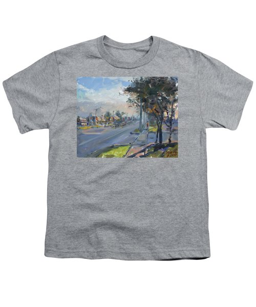 Late Evening In Guelph Street Georgetown Youth T-Shirt