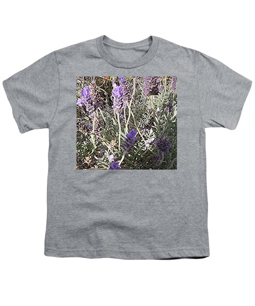 Lavender Moment Youth T-Shirt by Winsome Gunning