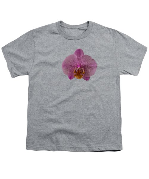 Leopard Prince Phalaenopsis Orchid Youth T-Shirt by Zina Stromberg