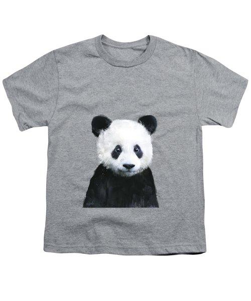 Little Panda Youth T-Shirt by Amy Hamilton