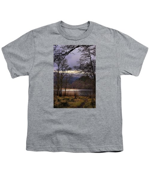 Youth T-Shirt featuring the photograph Loch Venachar by Jeremy Lavender Photography