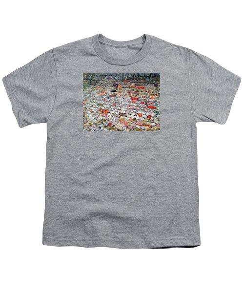 London Bricks Youth T-Shirt by Tiffany Marchbanks