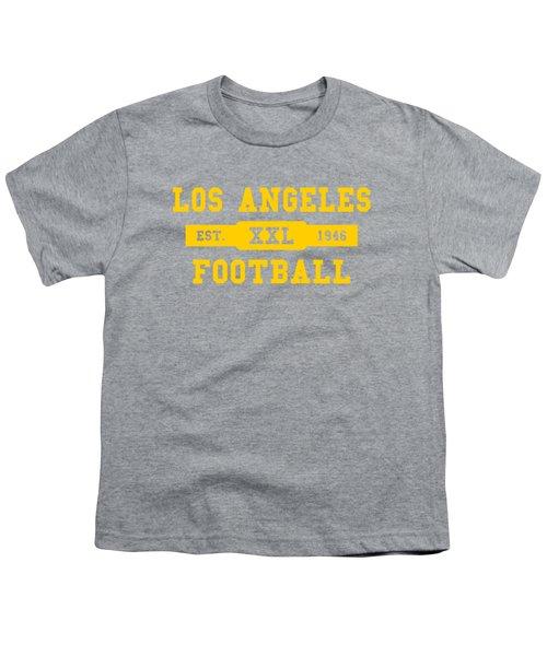 Los Angeles Rams Retro Shirt Youth T-Shirt by Joe Hamilton