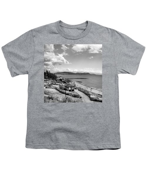 Lyme Regis And Lyme Bay, Dorset Youth T-Shirt by John Edwards