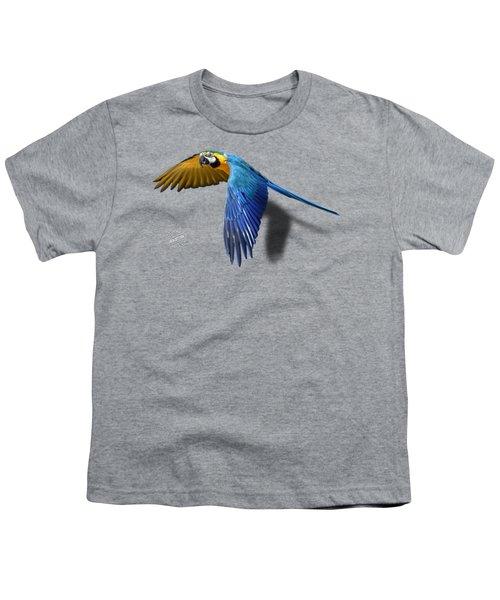 Macaw No 01 Youth T-Shirt