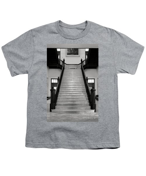 Maine Capitol West Wing Staircase Youth T-Shirt
