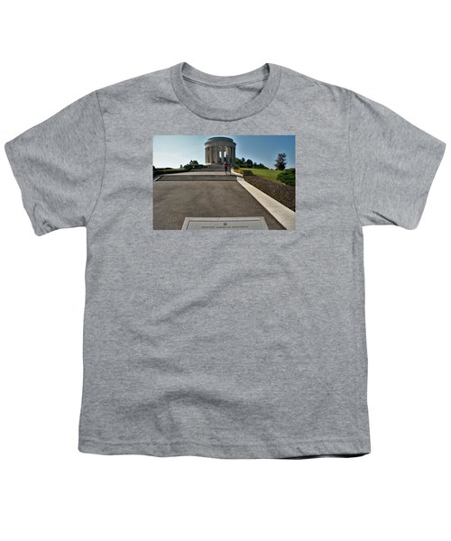 Youth T-Shirt featuring the photograph Montsec American Monument by Travel Pics