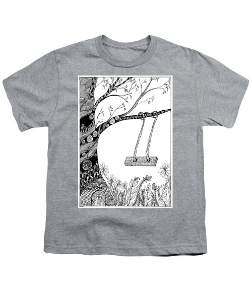Nature Is Calling Come Out And Play Youth T-Shirt