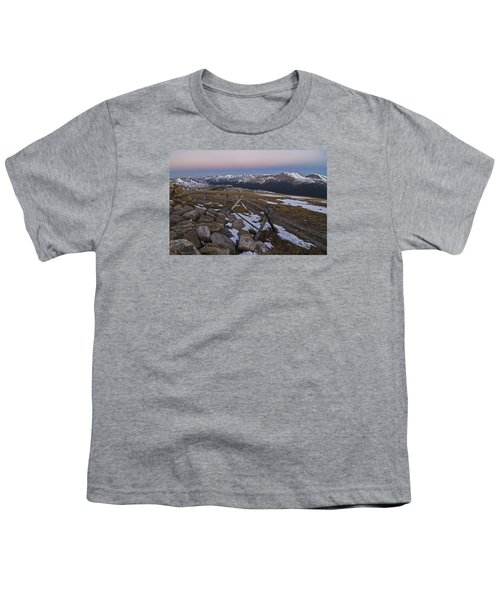 Youth T-Shirt featuring the photograph Never Summer Range by Gary Lengyel