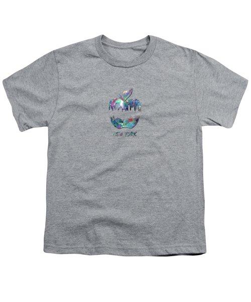 new York apple  Youth T-Shirt