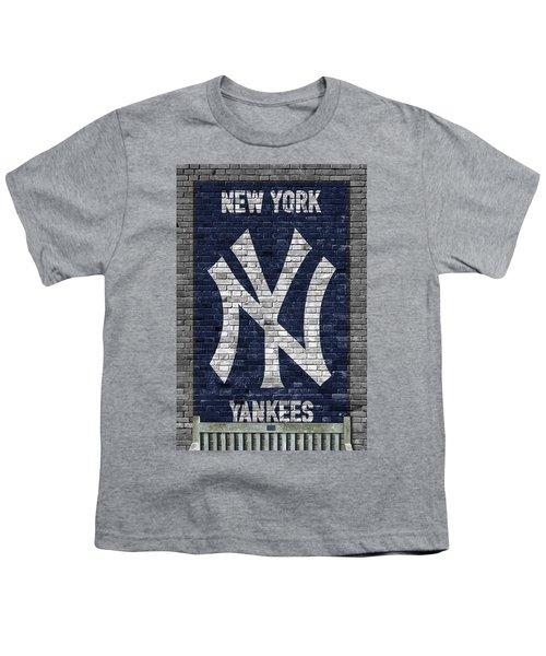 New York Yankees Brick Wall Youth T-Shirt