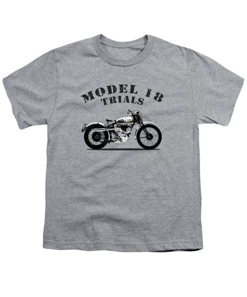 Norton Model 18 Trials 1938 Youth T-Shirt