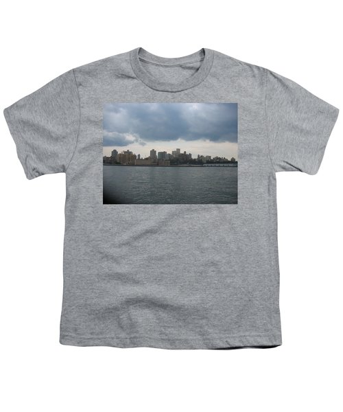 Nyc4 Youth T-Shirt by Donna Andrews