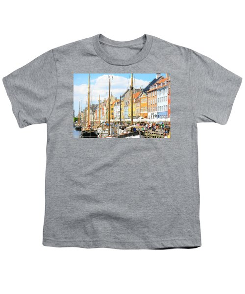 Nyhavn Youth T-Shirt by Calvin Roberts Photography